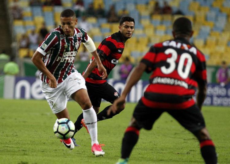 Leão perdeu por 2 a 1 no Maraca - Foto: Nelson Perez | Fluminense F. C. | Divulgação