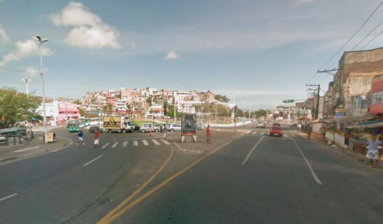 Um dos crimes aconteceu na região do Largo do Tanque - Foto: Reprodução | Google Maps