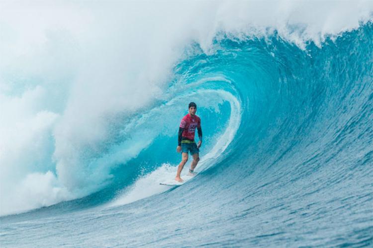 Gabriel medina venceu na estreia na etapa de Fiji do Circuito Mundial - Foto: Cestari | WSL