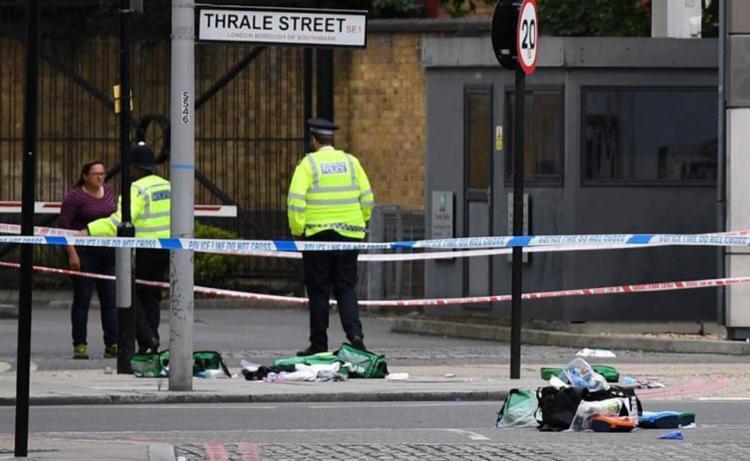 Ataques aconteceram no centro de Londres - Foto: Chris J Ratcliffe   AFP