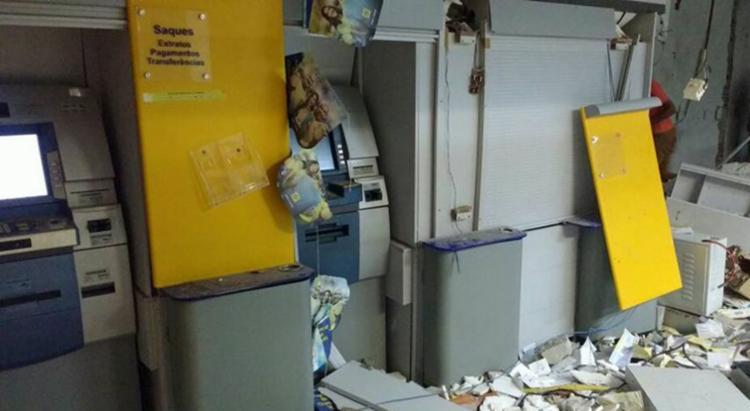 A ação criminosa aconteceu na madrugada deste domingo, 4, em Iuiú - Foto: Reprodução   Folha do Vale