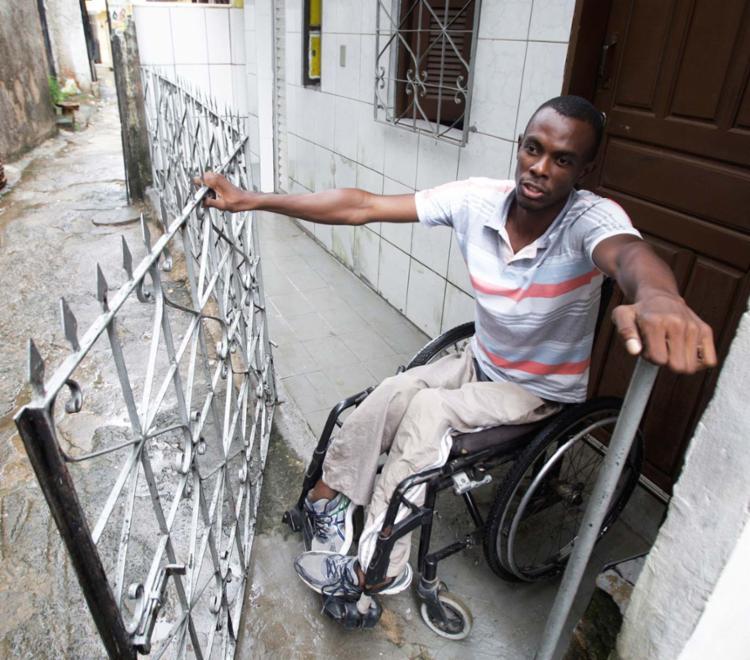 Daniel Sampaio estuda direito e luta por emprego - Foto: Luciano da Mata   Ag. A TARDE
