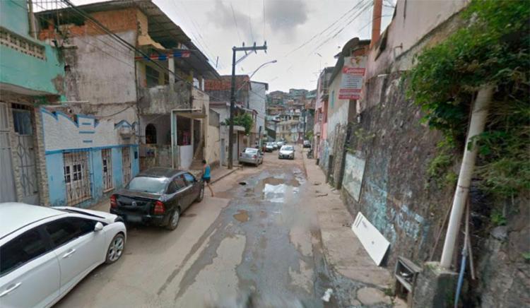 O crime aconteceu na rua Lídio dos Santos - Foto: Reprodução | Google Maps