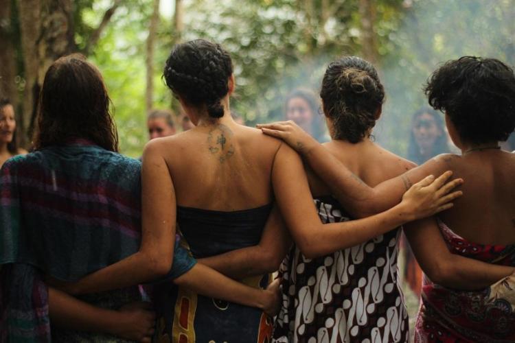 Vivência no espaço Asas e Raízes, em Serra Grande, no sul da Bahia - Foto: Harumi Okamoto / Divulgação