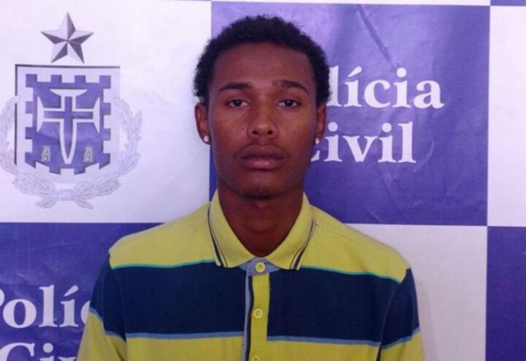 Caíque já tinha um mandado de prisão em aberto por roubo - Foto: Polícia Civil   Divulgação