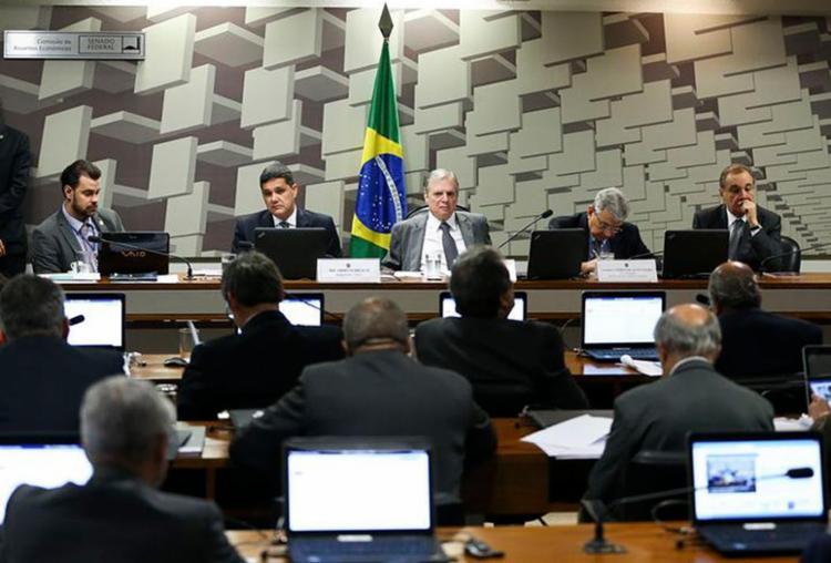 Apesar de voto contrário de Renan Calheiros, placar final bate com a previsão inicial do Planalto - Foto: Marcelo Camargo l Agência Brasil