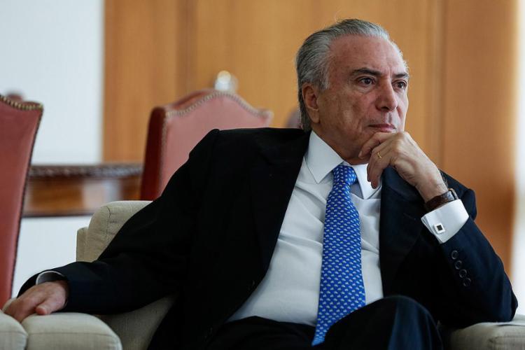 Presidente Michel Temer voltará ao Brasil no próximo sábado, 8 - Foto: Marcos Corrêa l PR l 01.06.2017