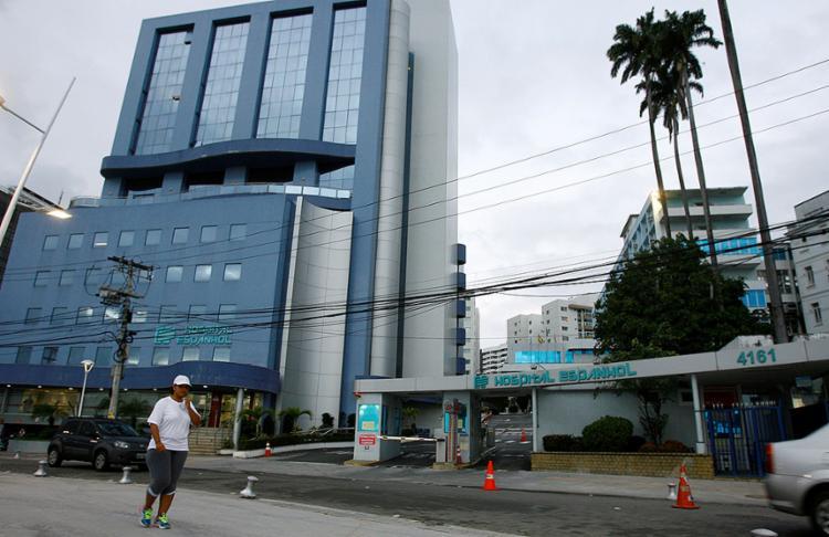 Fechada há cerca de três anos, instituição de saúde acumula dívidas trabalhistas com os antigos funcionários - Foto: Joá Souza l Ag. A TARDE l 9.9.2014