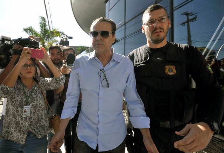 Ex-ministro Henrique Alves é preso em operação da PF Ex-ministro é acusado de receber R$ 7,15 milhões em propina por construção de estádio no RN - Foto: Magnus Nascimento l Estadão Conteúdo
