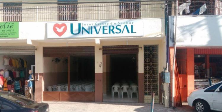 Crime aconteceu em frente à igreja Universal - Foto: Reprodução | Google Maps