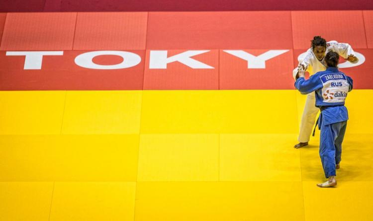Atual campeã olímpica, Rafaela Silva participa dos treinamentos na cidade japonesa de Hamamatsu - Foto: CBJ | divulgação