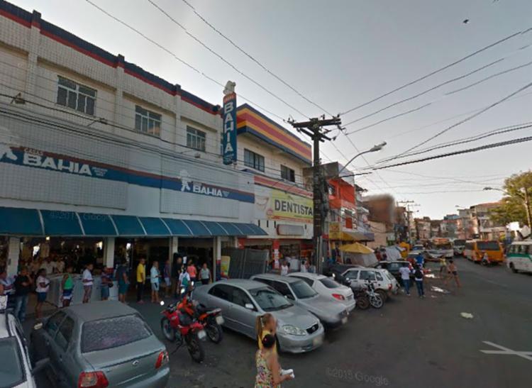 Policiais Militares foram acionados, mas bandidos conseguiram fugir - Foto: Reprodução | Google Maps