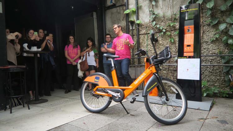 Mais modernas, novas bicicletas foram produzidas pela empresa canadense PBSC - Foto: Itaú | Divulgação