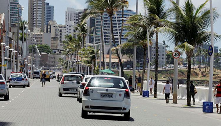 A partir das 12h os acessos às avenidas serão normalizados - Foto: Luciano da Matta | Ag. A TARDE
