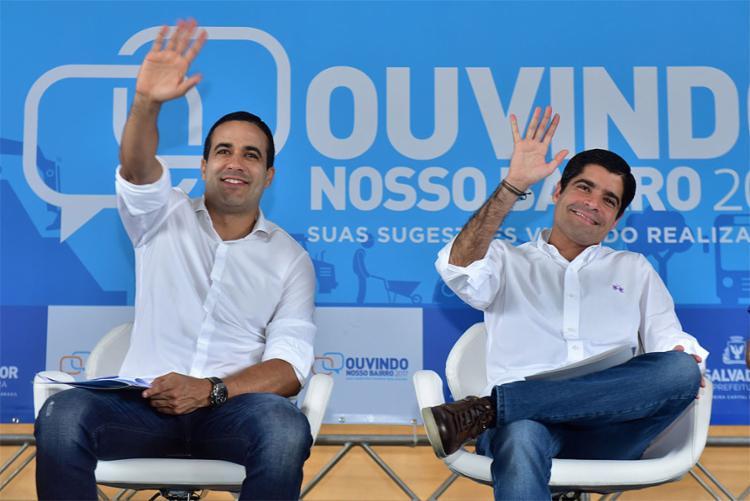 O decreto foi assinado pelo prefeito ACM Neto (D) em cerimônia realizada nesta sexta-feira - Foto: Divulgação l Secom-PMS