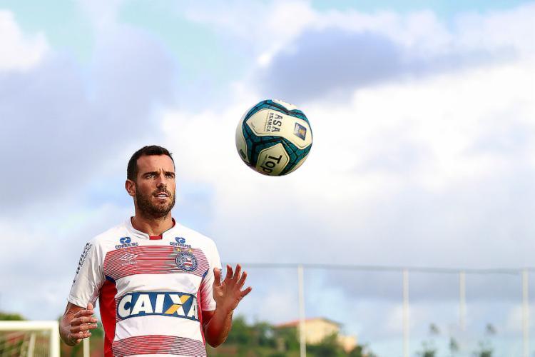 Lucas cresceu na temporada a partir dos jogos decisivos - Foto: Felipe Oliveira l EC Bahia