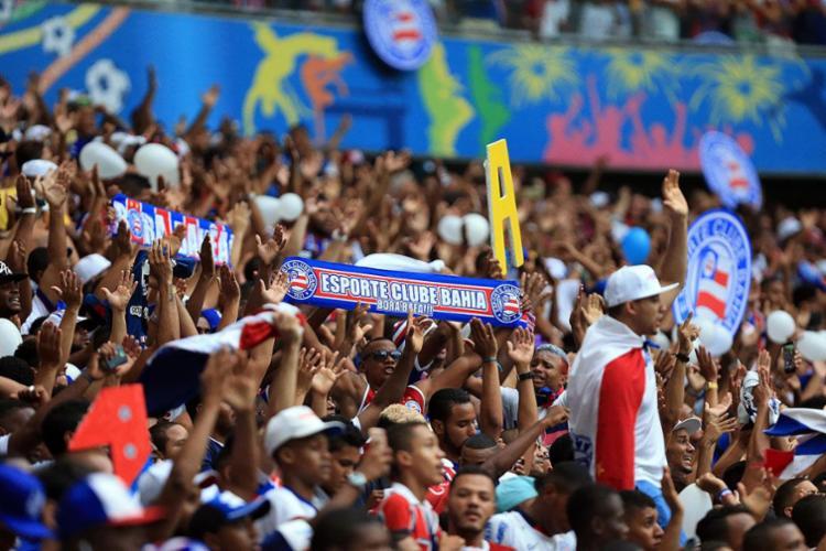 O clássico será disputado com torcida única por determinação do MP-BA - Foto: Felipe Oliveira | Divulgação | E.C.Bahia