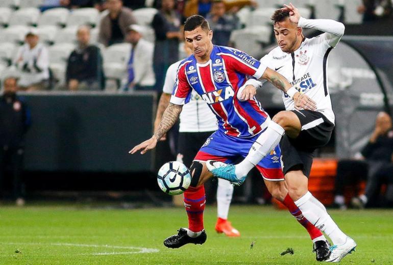 Bahia perde para o Corinthians e continua sem vencer fora de casa