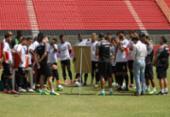 Sem técnico, Vitória finaliza preparação para enfrentar a Chapecoense | Foto: