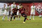 Vitória tropeça em casa diante da Chape e soma quatro jogos sem vencer | Foto: