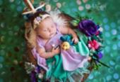Fotógrafa retrata seis bebês como princesas da Disney; veja | Foto: