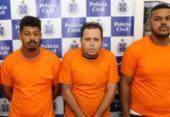 Suspeitos de integrar quadrilha de assalto a bancos são presos com roupas camufladas | Foto: