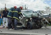 Quatro pessoas da mesma família morrem em acidente na BR-324 | Foto: