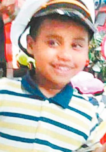 Familiares de Bryan relataram que a bala atravessou o tórax da criança - Foto: Reprodução