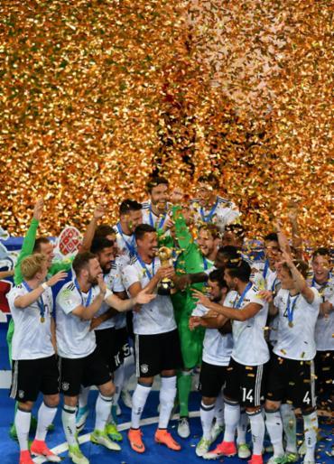Com casa cheia, Alemanha bate o Chile e conquista mais um título - Foto: Yuri Cortez | AFP