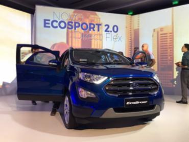 Ford EcoSport versão Titanium, top de linha - Foto: Lhays Feliciano