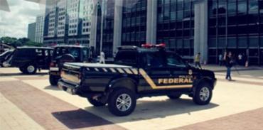 São cumpridos 77 mandados durante a operação - Foto: Divulgação   PF