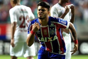 João Paulo é artilheiro do Bahia com 47 minutos jogados