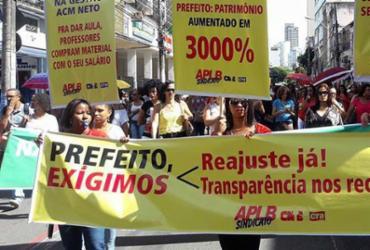 Professores municipais de Salvador decidem paralisar por dois dias