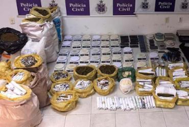 Laboratório de drogas com renda mensal de R$ 1 milhão é descoberto na Engomadeira