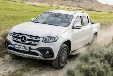 Mercedes revela primeira picape de uma marca de luxo da história