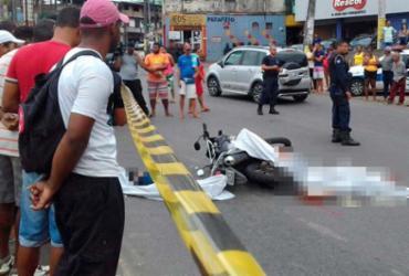Suspeitos de assalto morrem após serem baleados na San Martin