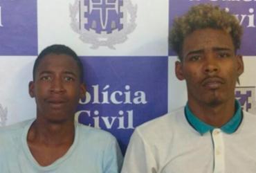 Suspeitos de praticar assaltos a ônibus são presos na Calçada