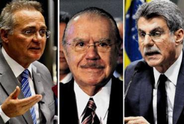 Relatório da Polícia Federal livra Sarney, Jucá e Calheiros
