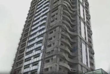 Operário morre após acidente em obra de prédio no Corredor da Vitória