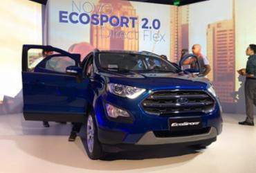 Ford lança EcoSport 2018 com nova motorização, itens e preços competitivos