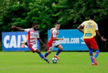 Rodrigão ainda treina em separado; Lucas Fonseca sente lesão