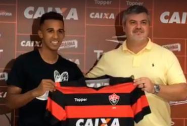 """""""Vou dar o meu melhor"""", diz lateral Juninho ao ser apresentado"""