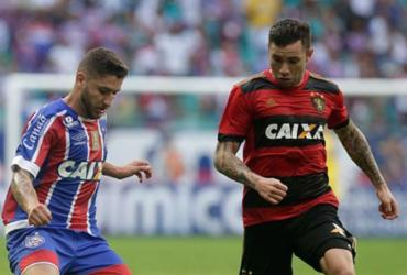 Bahia tropeça diante do Sport e volta a frustrar torcida na Fonte