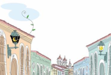 A cidade no centro