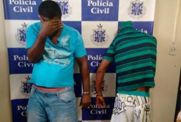 Os dois vão responder por roubo e formação de quadrilha - Raul Aguilar | Ag. A TARDE