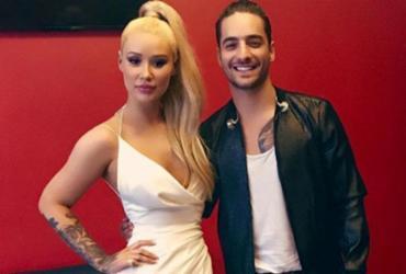 Iggy Azalea e Maluma são vistos juntos e fãs especulam parceria musical