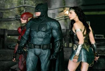 Liga da Justiça: Flash, Mulher-Maravilha e Batman juntos