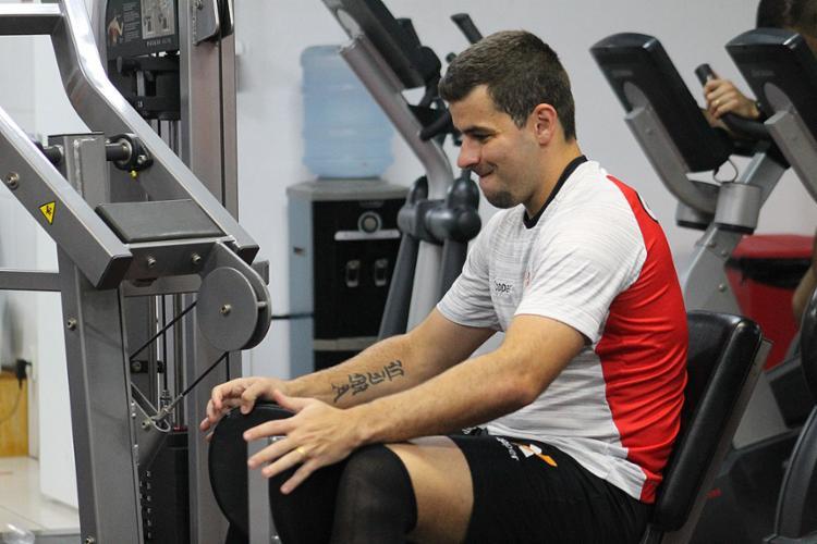 Desde que voltou de lesão, André Lima se consolidou no ataque e se transformou em uma das principais referências da equipe - Foto: Maurícia da Matta l EC Vitória
