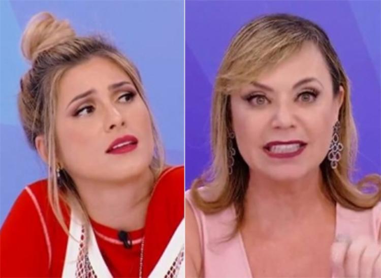 Livia Andrade e Flor trocaram desavenças - Foto: Divulgação l SBT