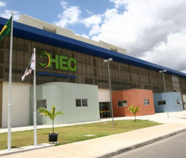Vítima está internada no Hospital Estadual da Criança desde segunda - Foto: HEC | Divulgação